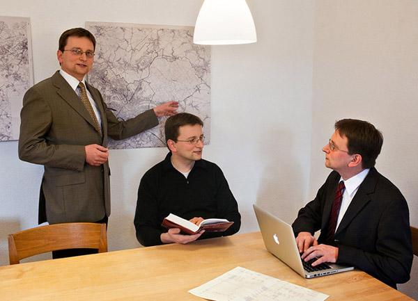 v.r.n.l.: Jens Gertsen, Jens Gertsen und Jens Gertsen